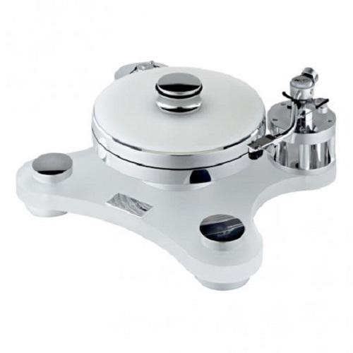 Виниловый проигрыватель Transrotor ZET 1 Glossy White (глянцевый белый) с тонармом Rega RB 880, MC головкой Transrotor Cantare, Блоком питания Konstant EINS и прижимным диском