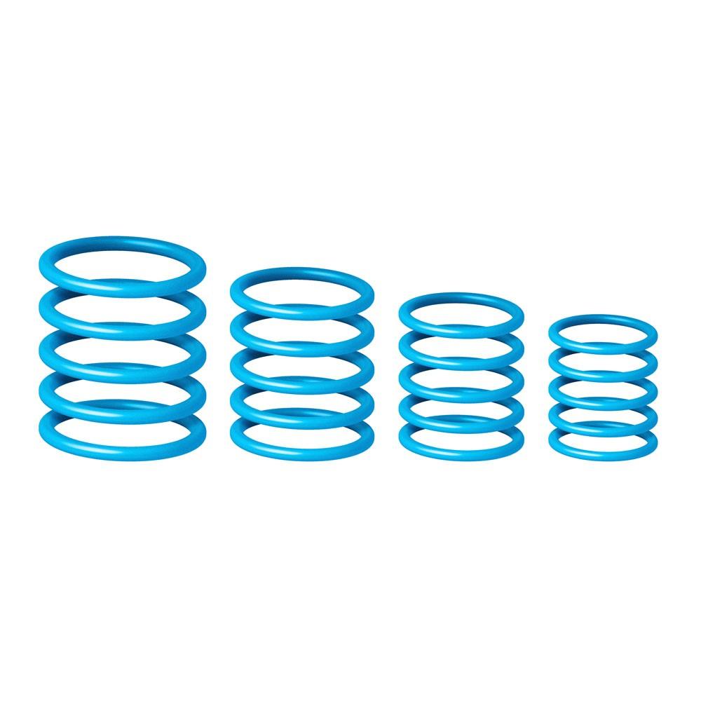 Набор резиновых колец для маркировки микрофонов Gravity RP 5555 BLU 1