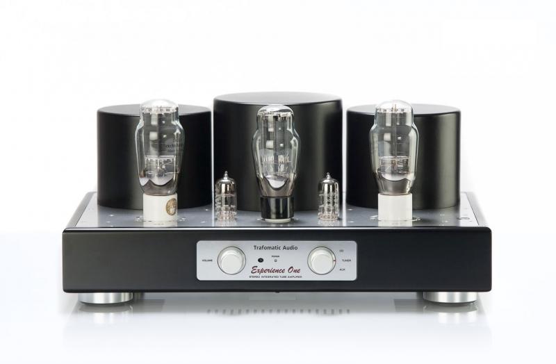 Ламповый усилитель Trafomatic Audio Experience One (black/silver plates), w/o RC
