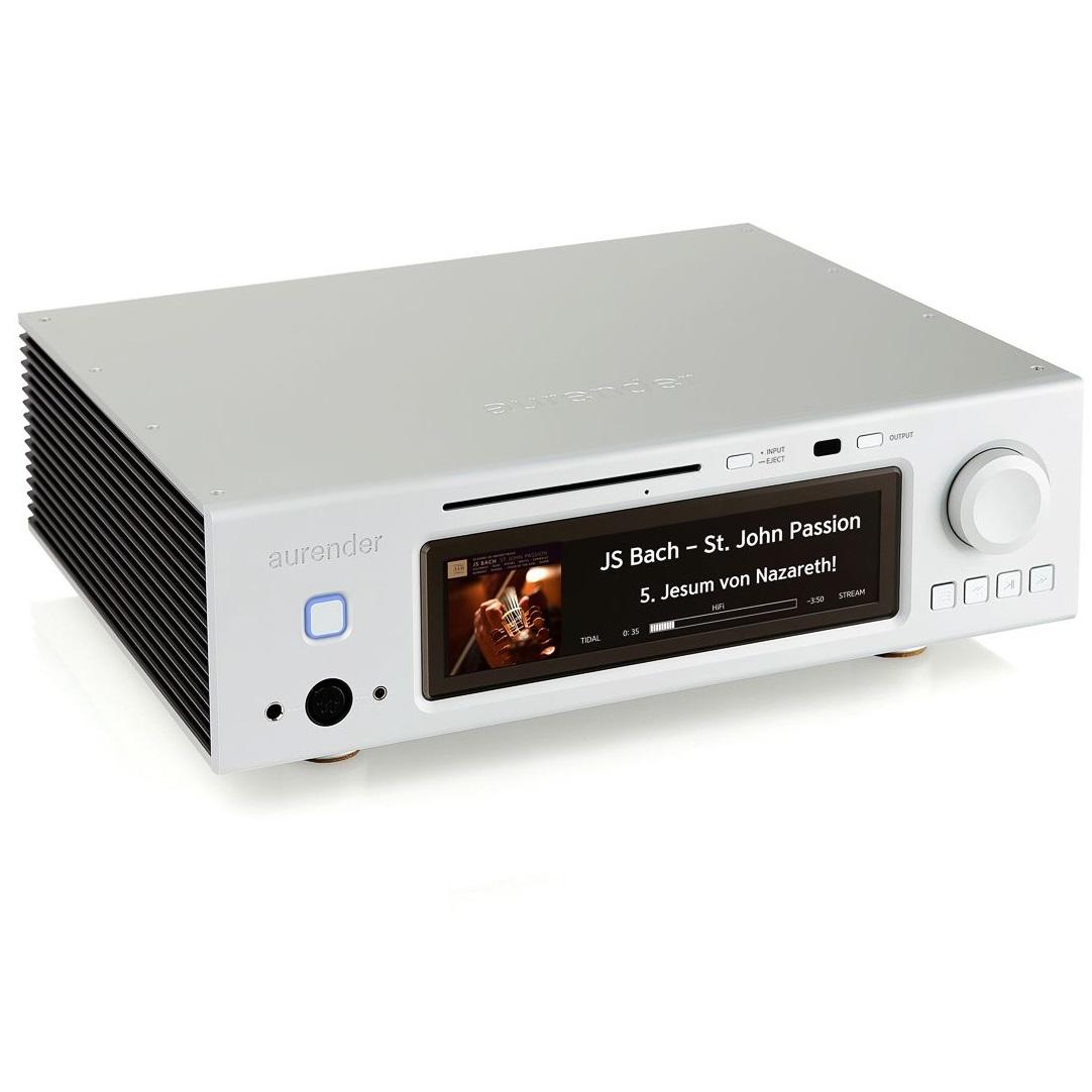 Сетевой аудио проигрыватель Aurender A30 silver