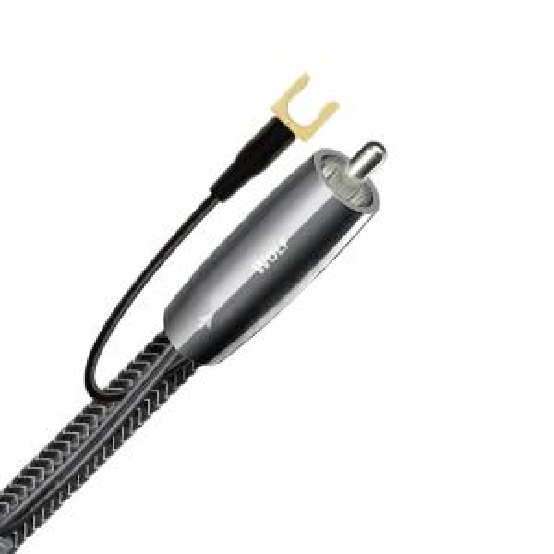 Сабвуферный кабель AudioQuest Wolf RCA-RCA Braid, 16.0m