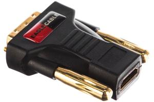 Переходник Eagle Cable DELUXE HDMI (w) > DVI -D (m) Adapter 1-Set, 3081371