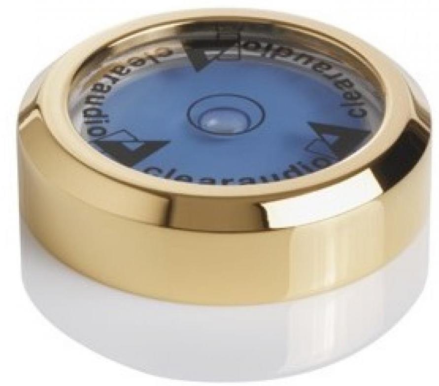 Пузырьковый уровень Clearaudio Level Gauge 24к Gold