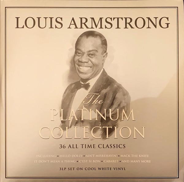 Виниловая пластинка FAT LOUIS ARMSTRONG, PLATINUM COLLECTION (180 Gram White Vinyl)
