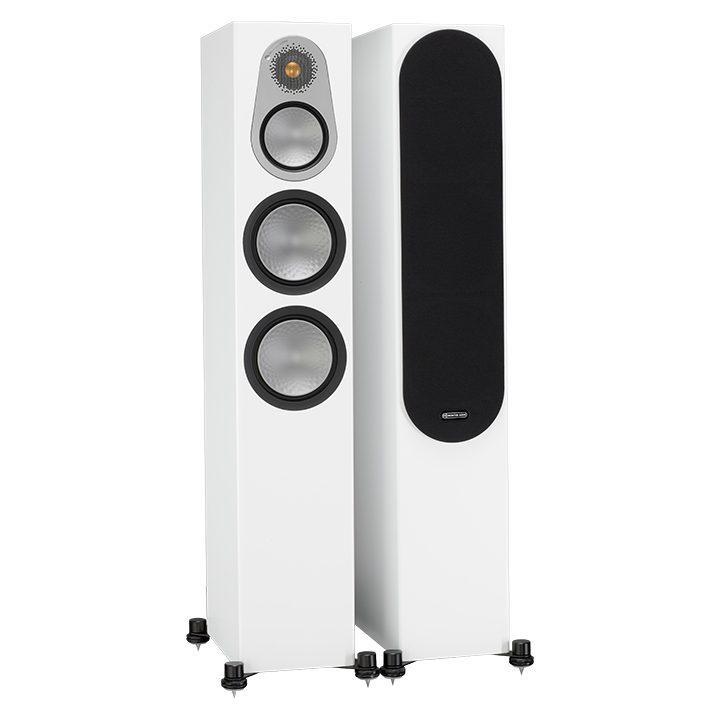 Напольная акустика Monitor Audio Silver 300 (6G) white satin