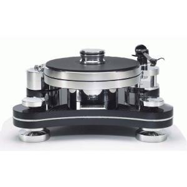 Виниловый проигрыватель Transrotor ZET 3 Black (Черный) с тонармом Rega RB 330, MC головкой Transrotor Merlo и прижимным диском