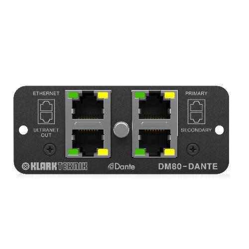 Интерфейс KLARK TEKNIK DM80-DANTE