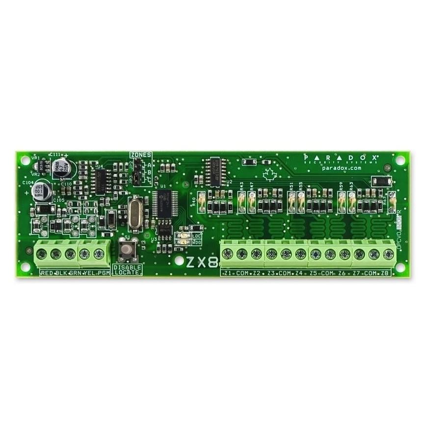 Модуль расширения Paradox ZX8SP 8-и зонный
