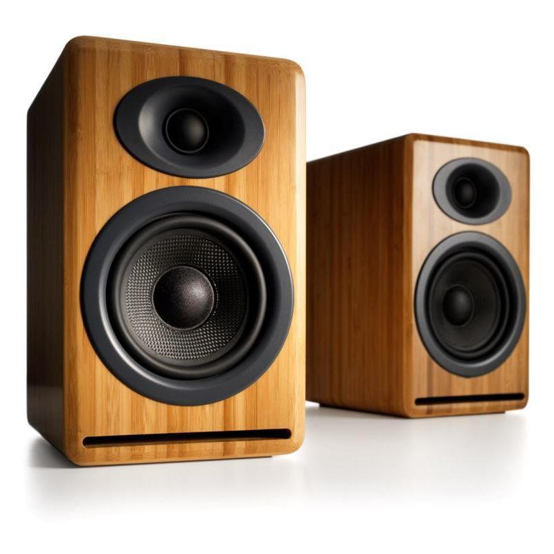 Полочная акустика Audioengine P4 Solid Bamboo