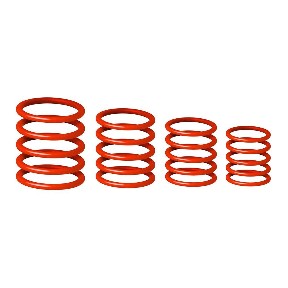 Набор резиновых колец для маркировки микрофонов Gravity RP 5555 RED 1