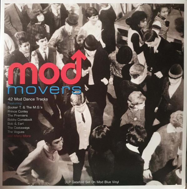 Виниловая пластинка FAT VARIOUS ARTISTS, MOD MOVERS (180 Gram Blue Vinyl)