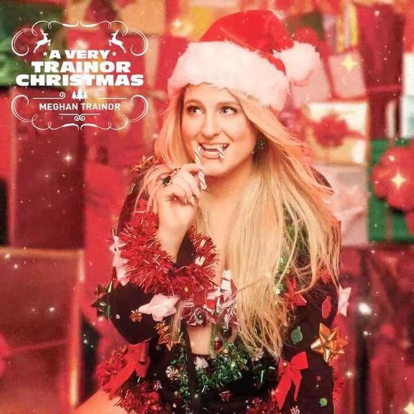 Виниловая пластинка Meghan Trainor — A VERY TRAINOR CHRISTMAS (Translucent Red & Translucent Green Vinyl)