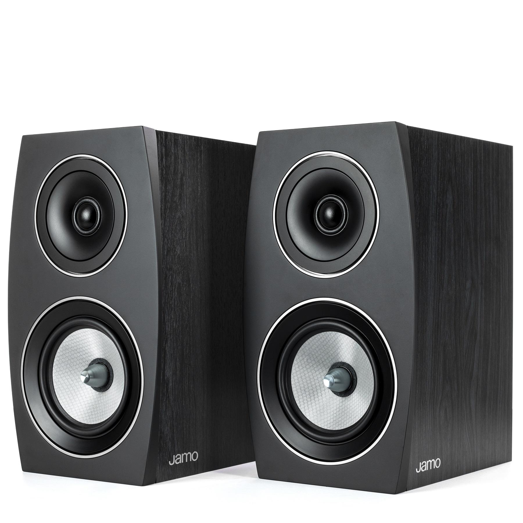 Полочная акустика Jamo C 93 II Black Ash