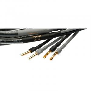 Акустический кабель Silent Wire LS12 mk2, black, 2x2.5m Bi-Wire