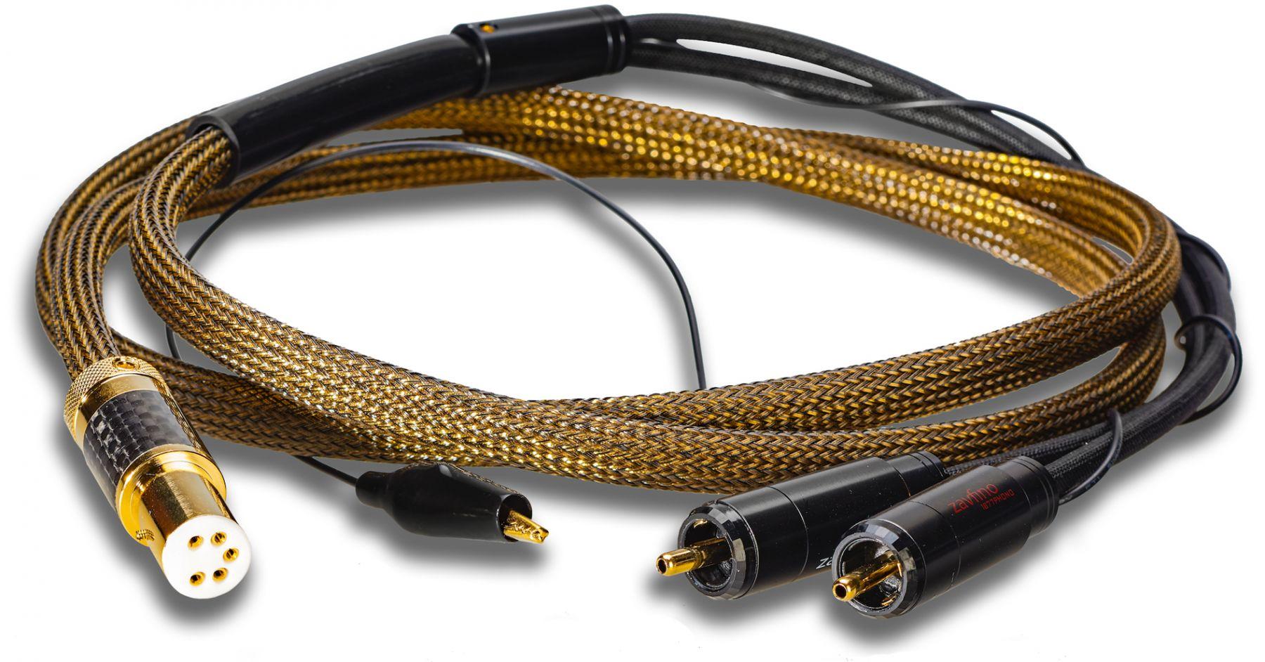 Фонокабель Zavfino Gold Rush (прямой DIN-RCA) 1.5m