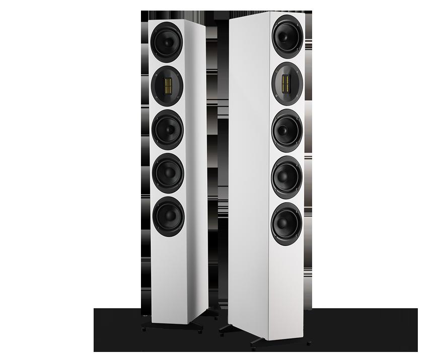 Напольная акустика Scansonic HD M40 White