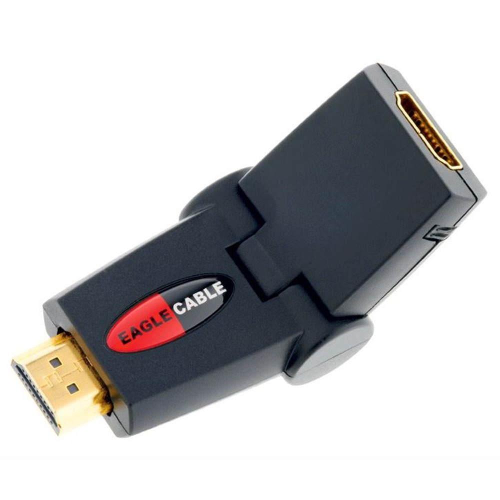 Адаптер угловой Eagle Cable DELUXE HDMI Winkeladapter male-female, 30813730