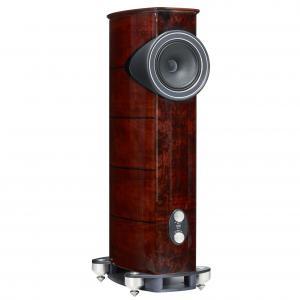 Напольная акустика Fyne Audio F1.12 Piano Gloss Walnut with Burr Walnut inlay on top and baffle