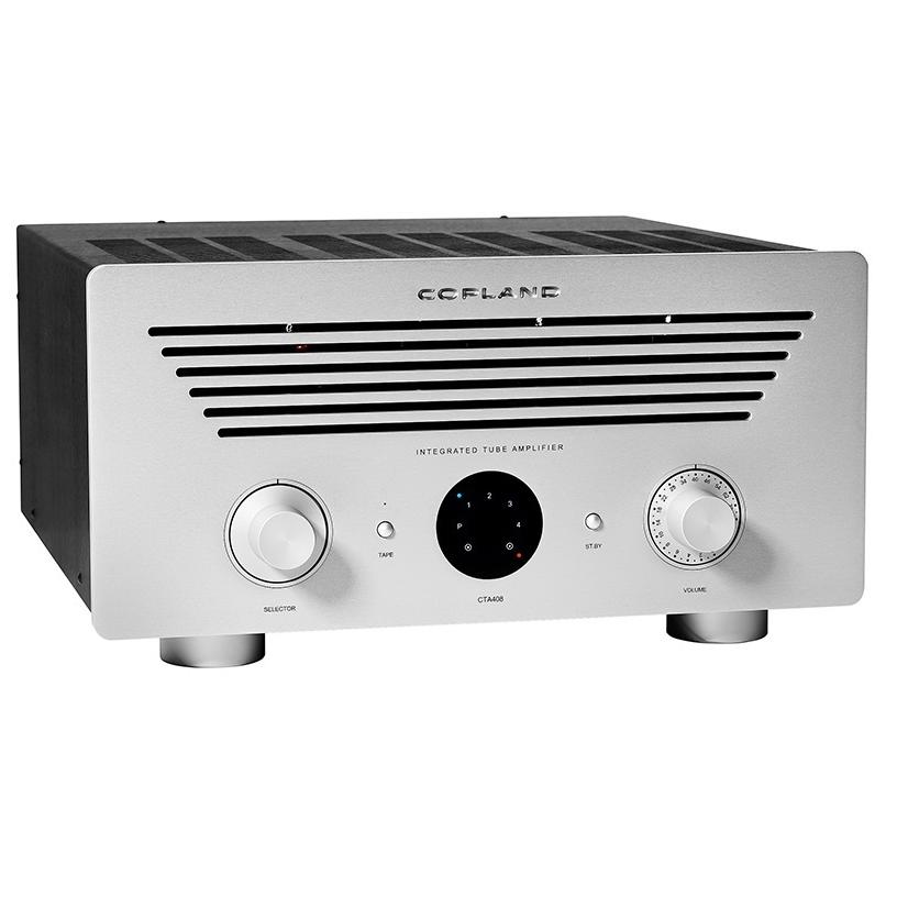 Ламповый интегральный усилитель Copland CTA 406 silver