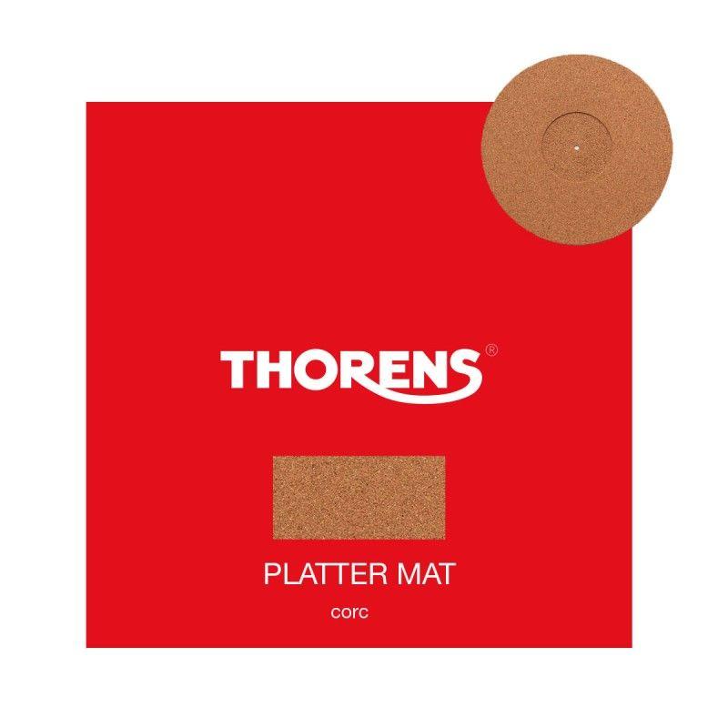 Мат для диска проигрывателя Thorens Platter Mat DM207 Пробка + Резина/антистатический