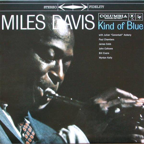 Виниловая пластинка Sony Miles Davis Kind Of Blue (Limited Solid Blue, Black & Solid White Vinyl)