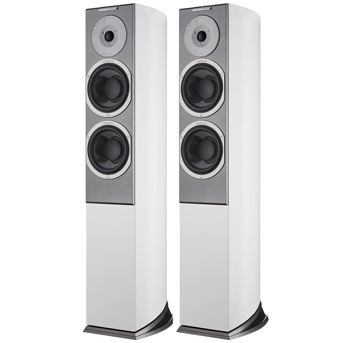 Напольная акустика Audiovector R 3 Signature White Silk