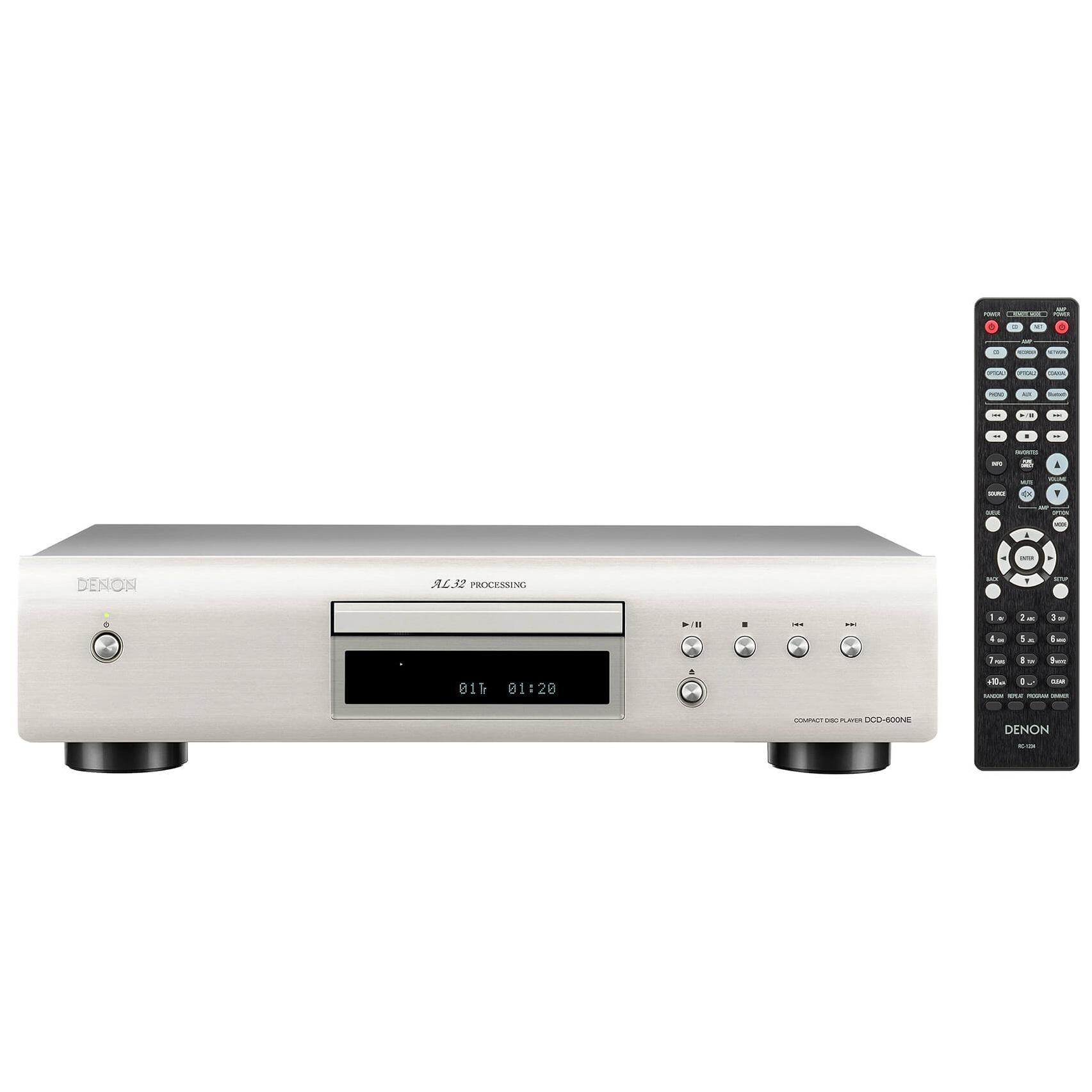 CD проигрыватель Denon DCD-600NE Premium Silver