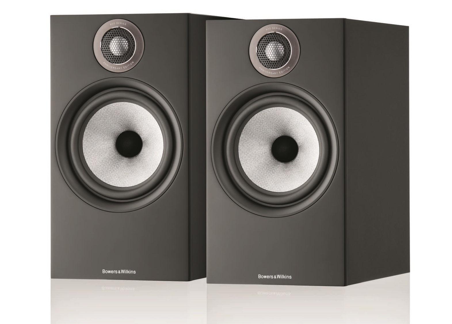 Полочная акустика B&W 606 S2 Anniversary Edition matte black