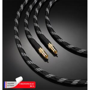 Кабель межблочный Real Cable Chenonceau-RCA 1.0m
