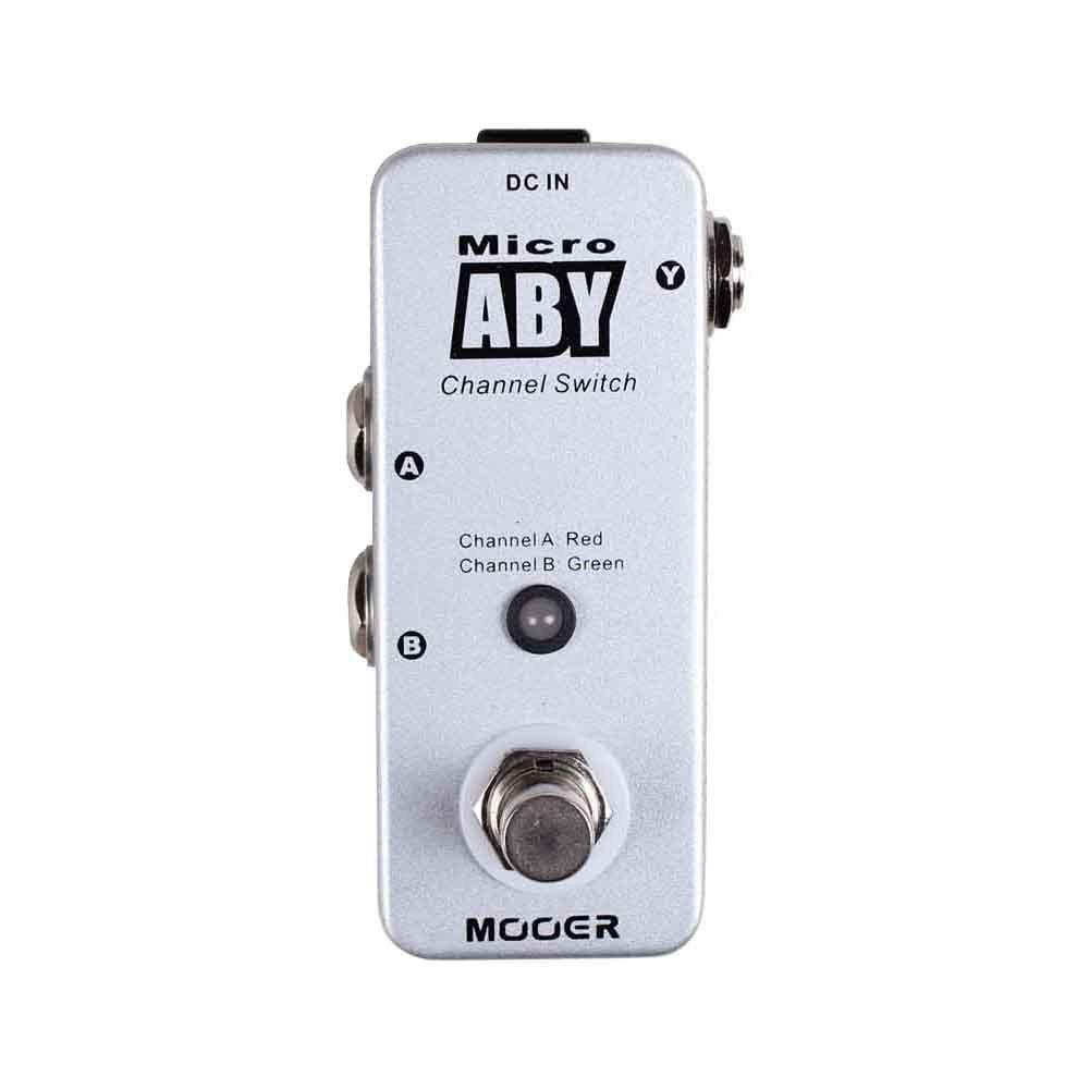 Мини-педаль ABY селектор Mooer Micro ABY (MKII)