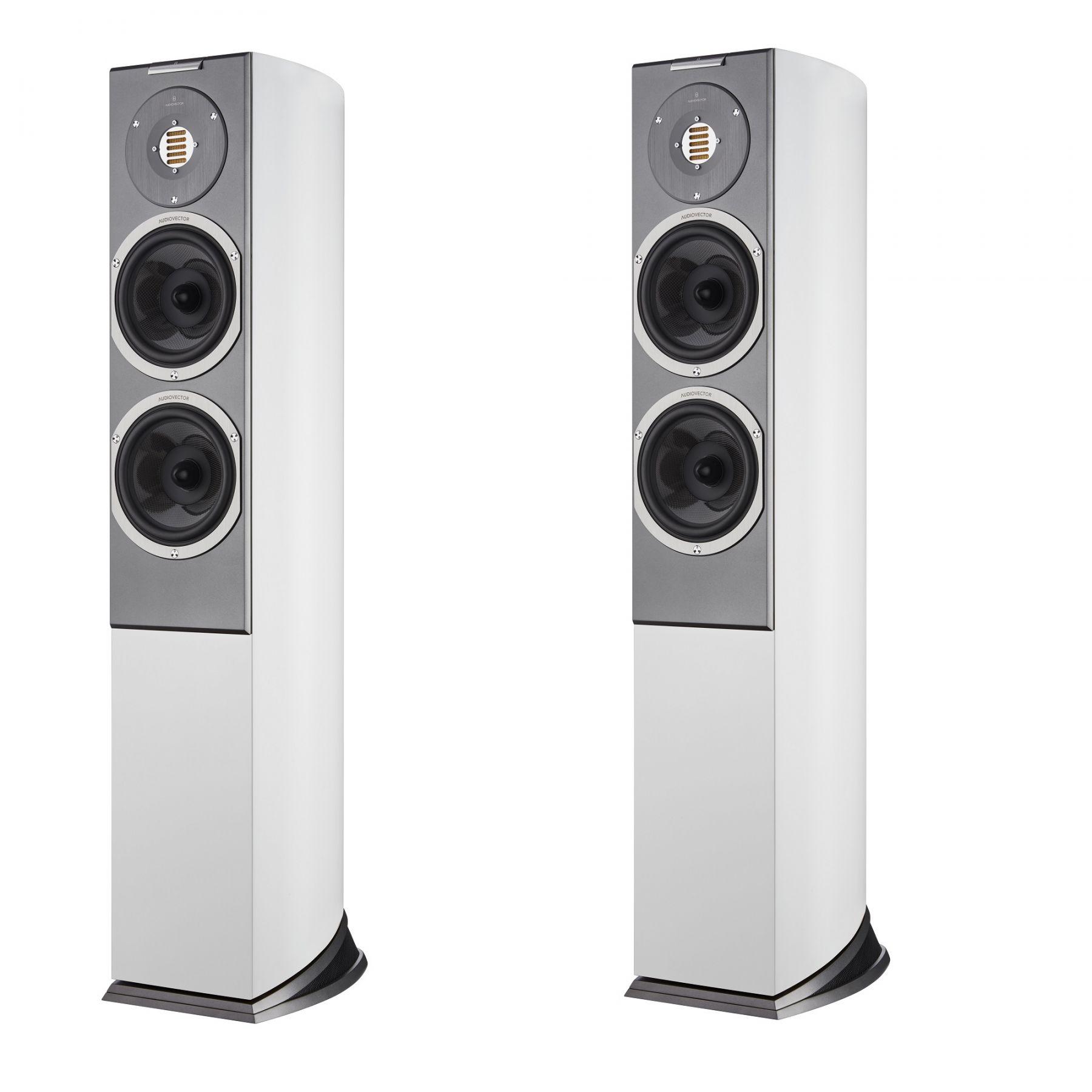Напольная акустика Audiovector R3 Arrete White Silk