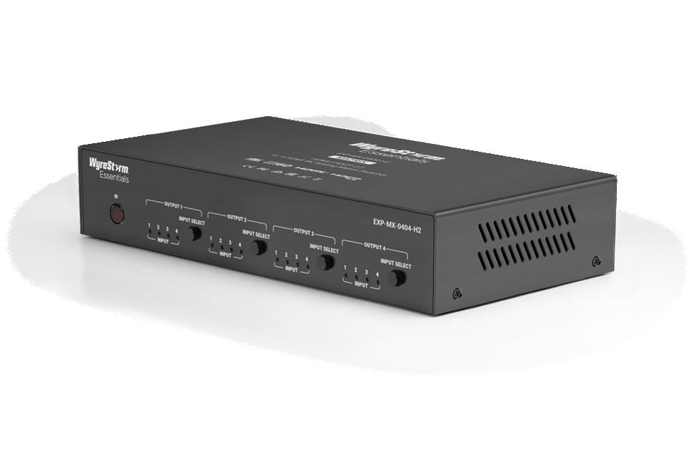 4K HDR матричный коммутатор Wyrestorm EXP-MX-0404-H2