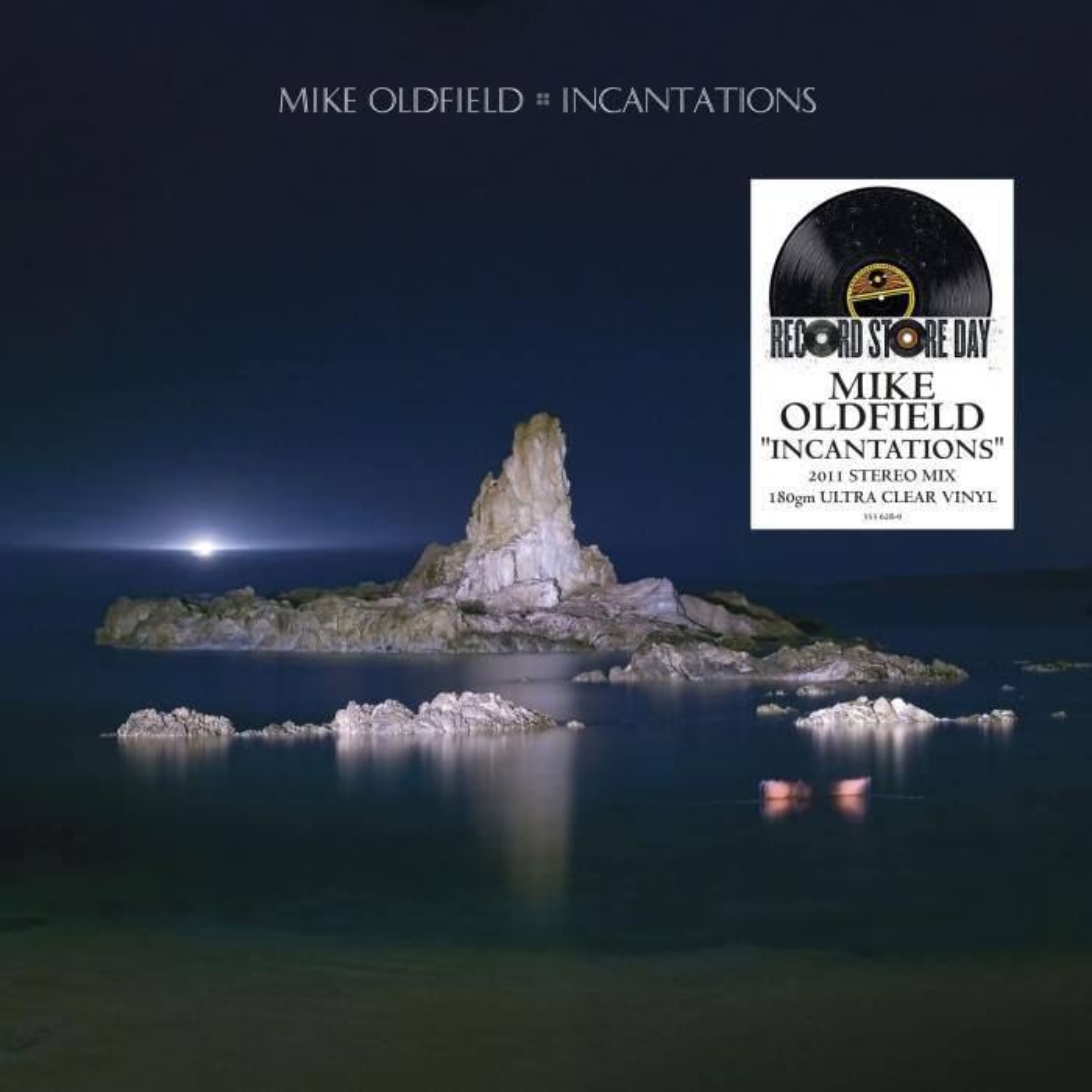 Виниловая пластинка Mike Oldfield - Incantations (Ultra Clear Vinyl)