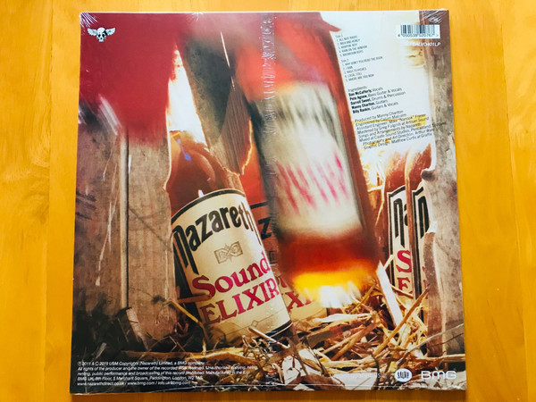 Виниловая пластинка Nazareth – Sound Elixir (Peach coloured vinyl)