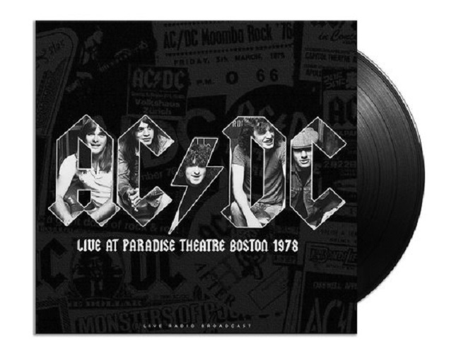 Виниловая пластинка AC/DC - BEST OF LIVE AT PARADISE THEATRE BOSTON 1978
