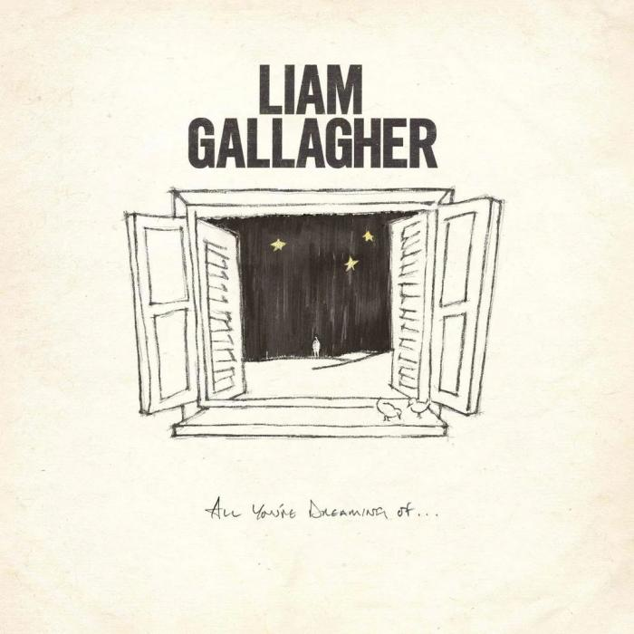 Виниловая пластинка Liam Gallagher - All You're Dreaming Of… (Limited White Vinyl/2 Tracks)
