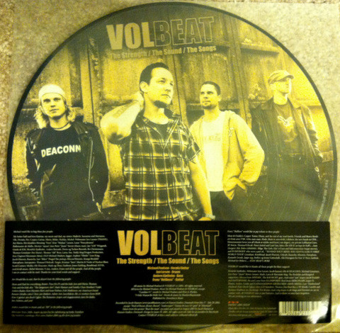 Виниловая пластинка VOLBEAT - THE STRENGTH/THE SOUND/THE SONG (PD)