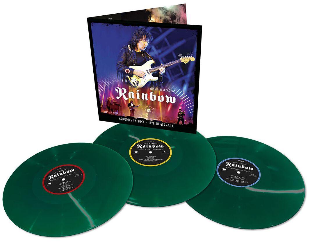 Виниловая пластинка Rainbow - Memories In Rock: Live In Germany (coloured)