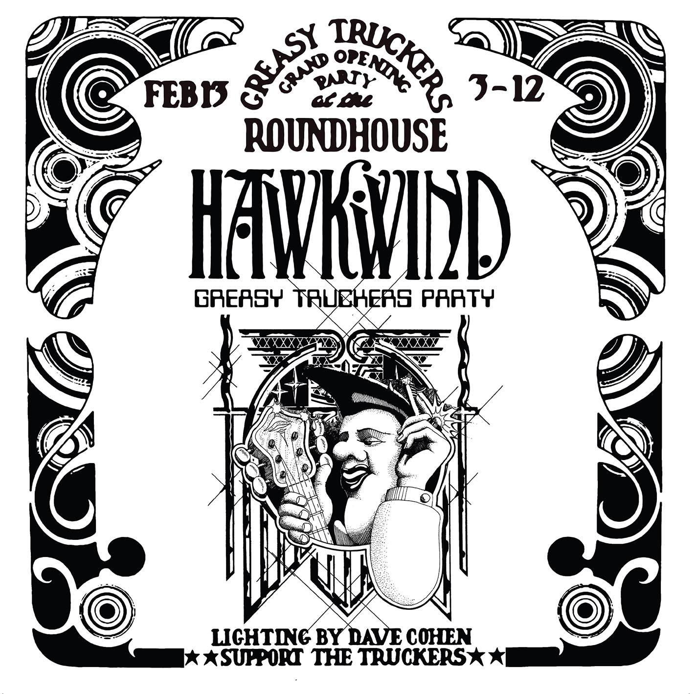 Виниловая пластинка Hawkwind - Greasy Truckers Party (RSD2021/Limited)