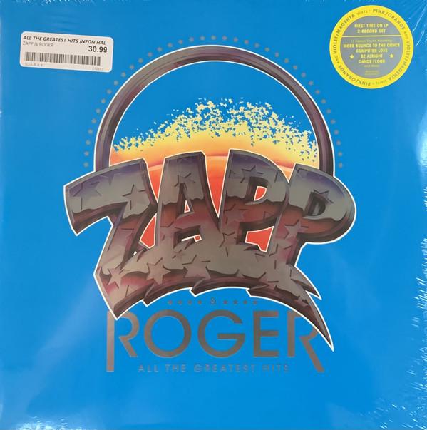 Виниловая пластинка Zapp & Roger - All the Greatest Hits (Limited Pink, Orange & Violet, Magenta Vinyl)