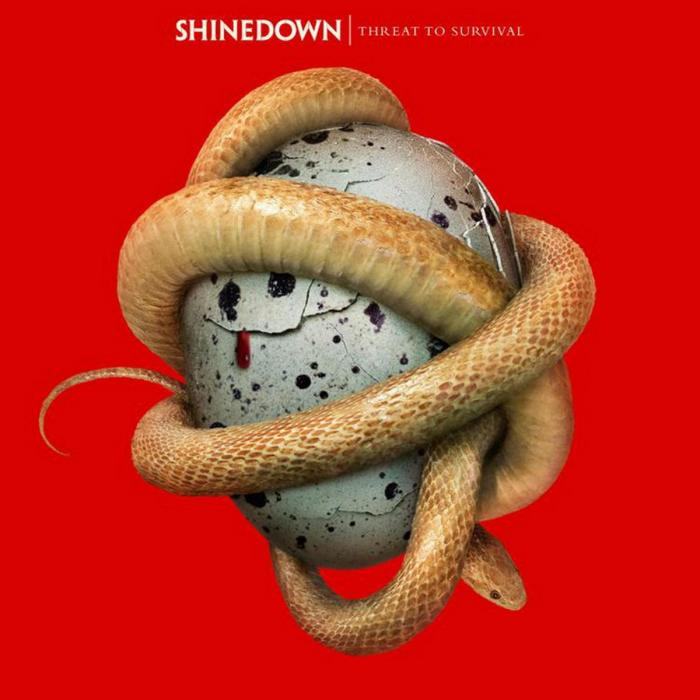 Виниловая пластинка Shinedown - Threat To Survival (Limited Clear Red Vinyl)