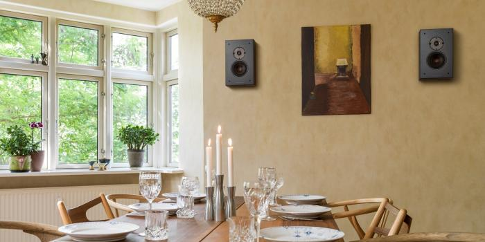 Настенная акустика Dali Oberon On-wall dark walnut
