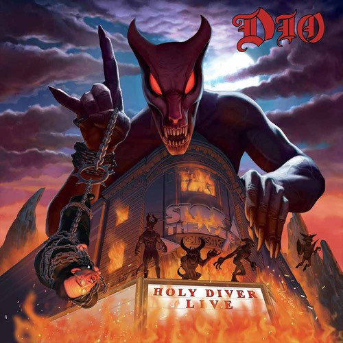 Виниловая пластинка Dio - Holy Diver Live