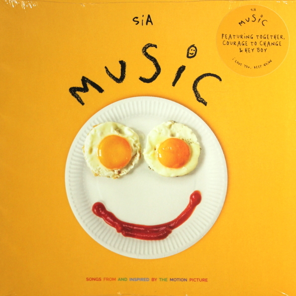 Виниловая пластинка Sia – Music (Songs From And Inspired By The Motion Picture)( Black Vinyl)