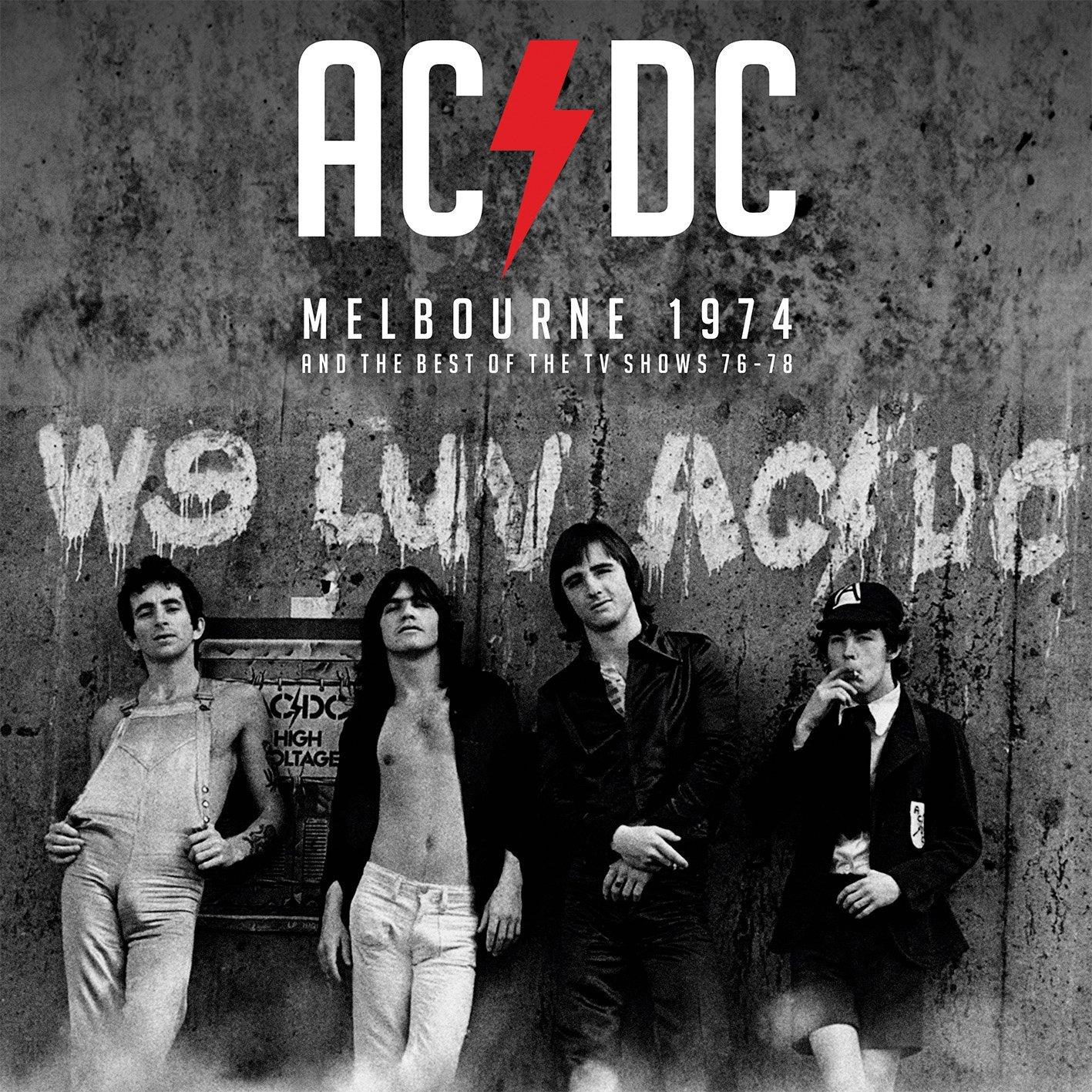 Виниловая пластинка AC/DC - MELBOURNE 1974 & THE TV COLLECTION (2LP)