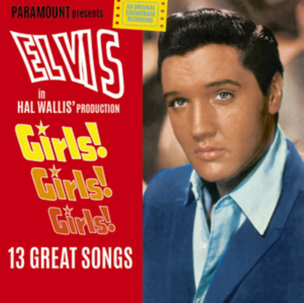 Виниловая пластинка Elvis Presley - Girls Girls Girls