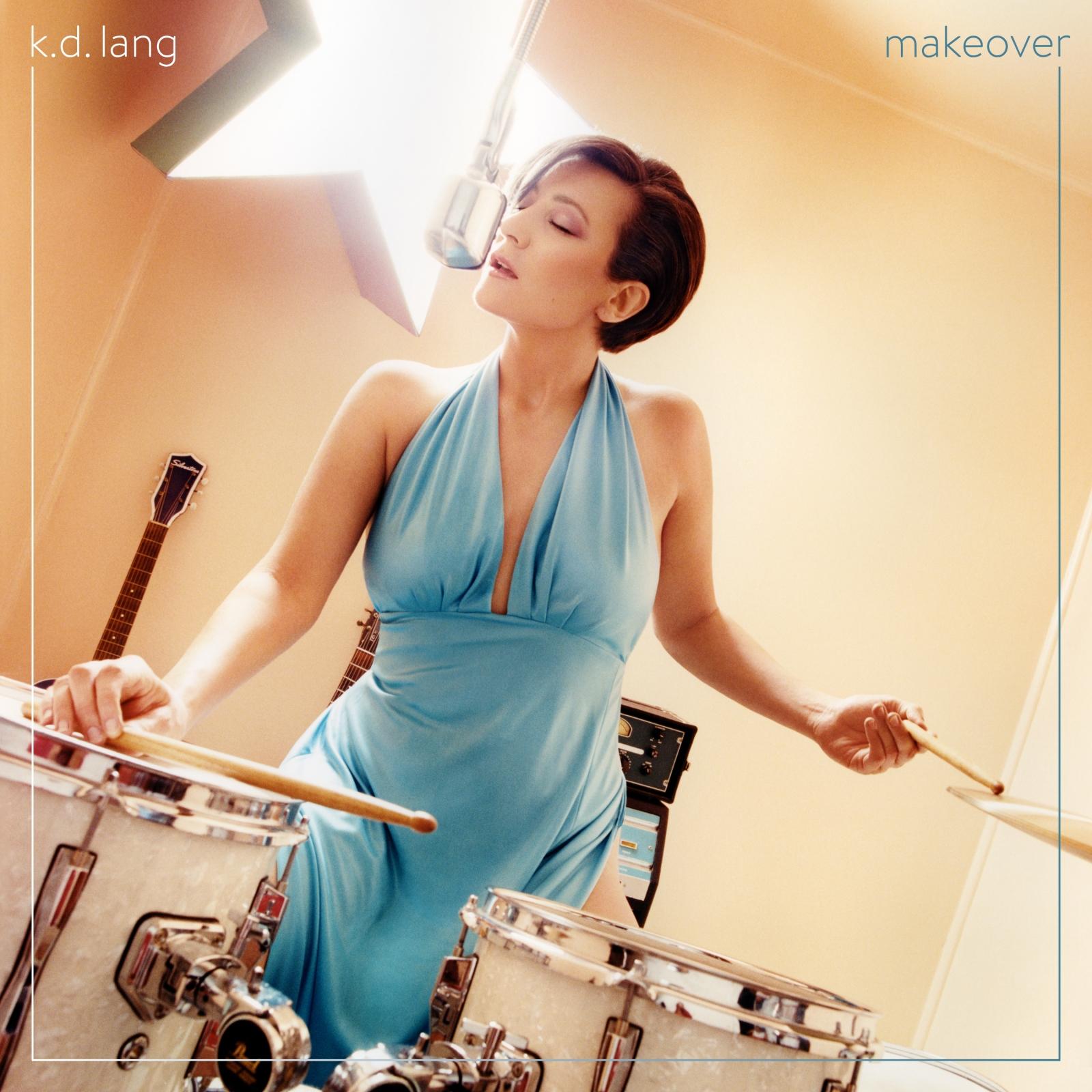 Виниловая пластинка k.d. Lang - makeover (Transparent Turquoise Vinyl)
