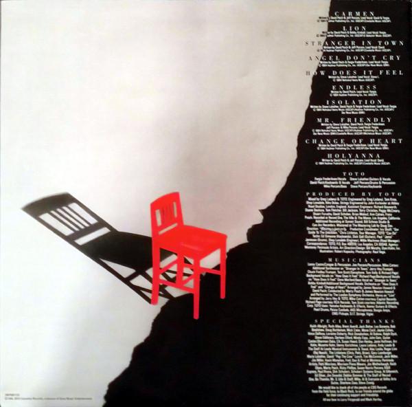 Виниловая пластинка Toto — ISOLATION (Black Vinyl)