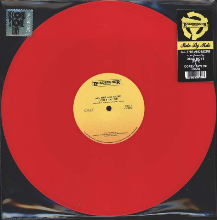 Виниловая пластинка Corey Taylor/Dead Boys - All This And More (Limited Red Vinyl)