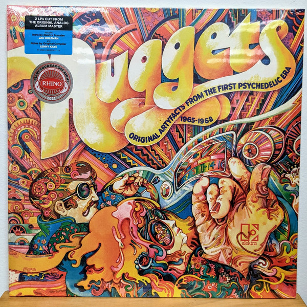 Виниловая пластинка Various artist — NUGGETS: ORIGINAL ARTYFACTS FROM THE FIRST PSYCHEDELIC ERA 1965-1968 (Start Your Ear Off Right 2021 / Limited Black Vinyl/Gatefold)